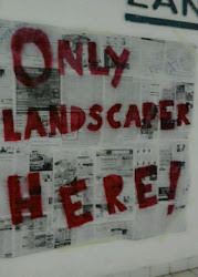 Landscapers Zone Sign