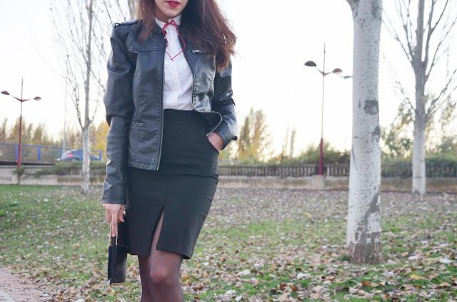 falda-lápiz-skirt-red-stilettos-blusa-lazo-blogger-trends-gallery