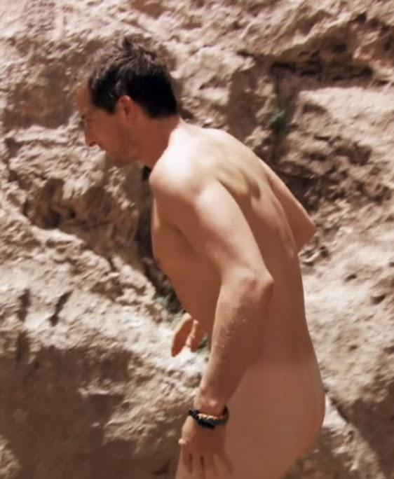Bear grylls unsensored naked