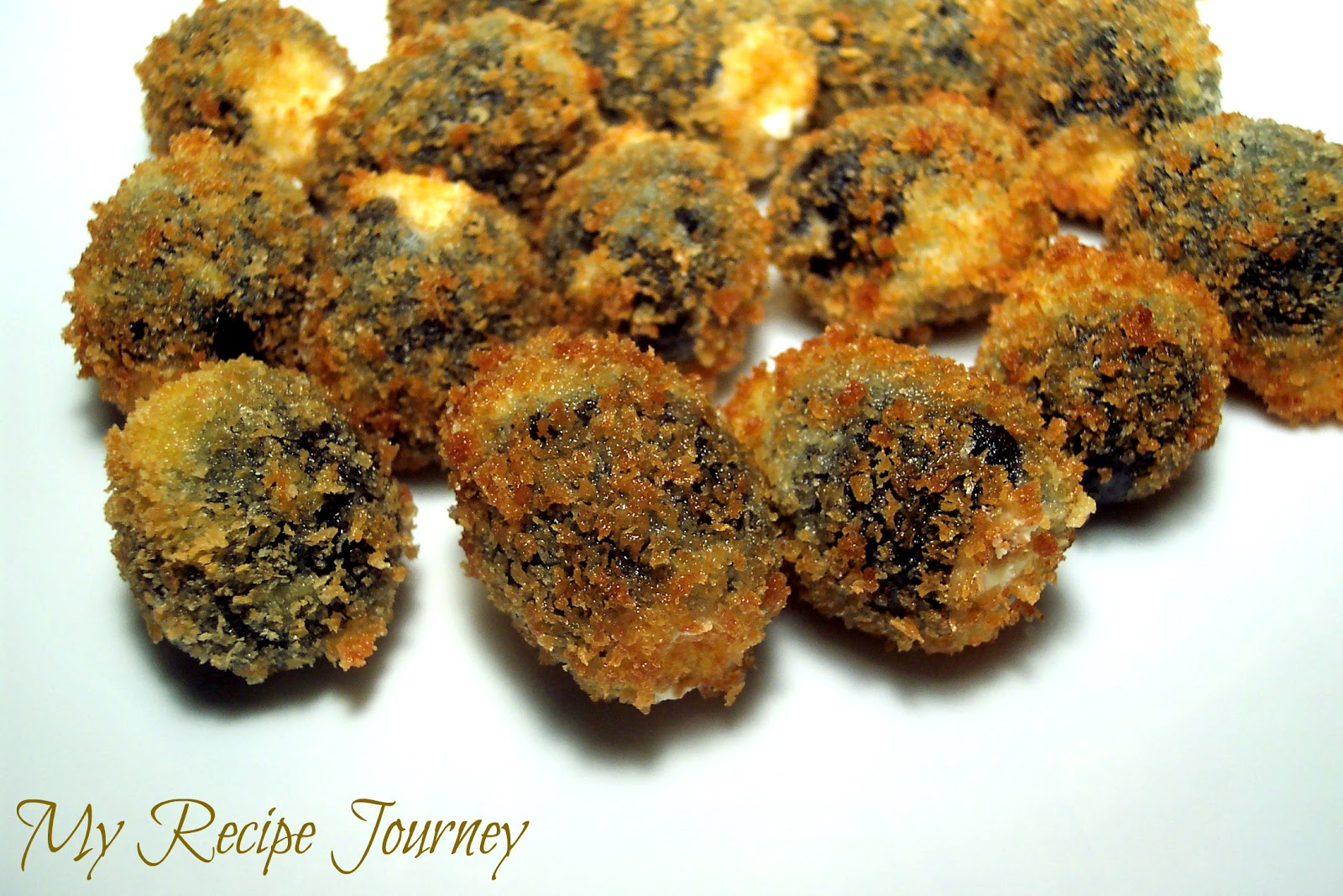My Recipe Journey: Fried Stuffed Olives