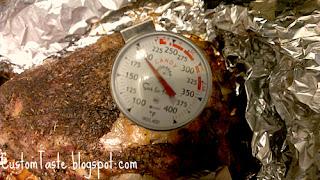 Brined and Oven Baked Pork Butt by Custom Taste