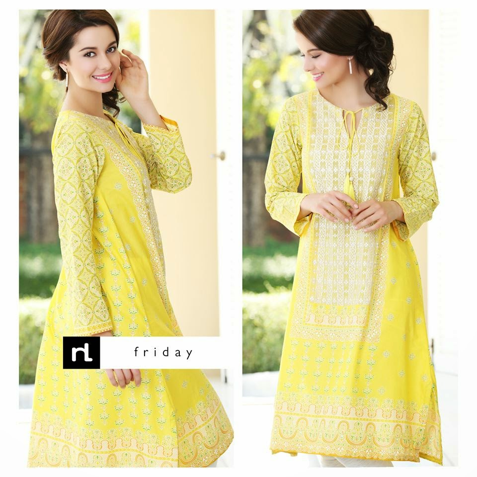Nisha Fabrics Women Summer Dresses 2015
