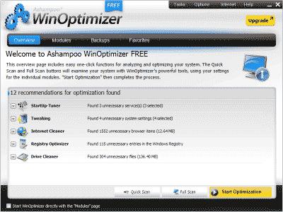 Download WinOptimizer Free