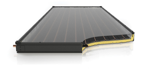 Solene Aurora Solar Water Heater Collector