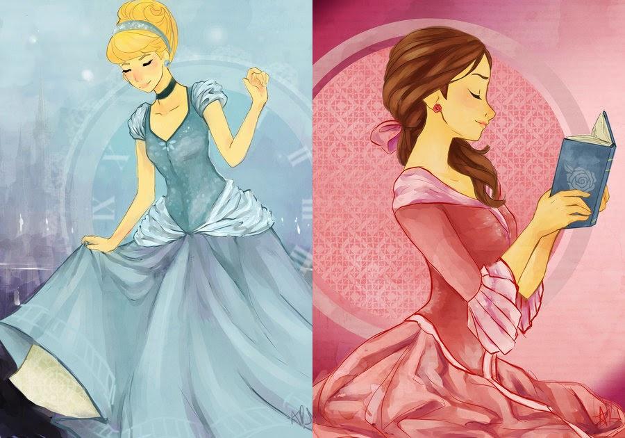 princesas loucas disney encantada