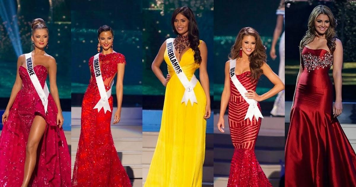 El Miss Universo ya escogi a sus cinco finalistas Fotos Diario 10