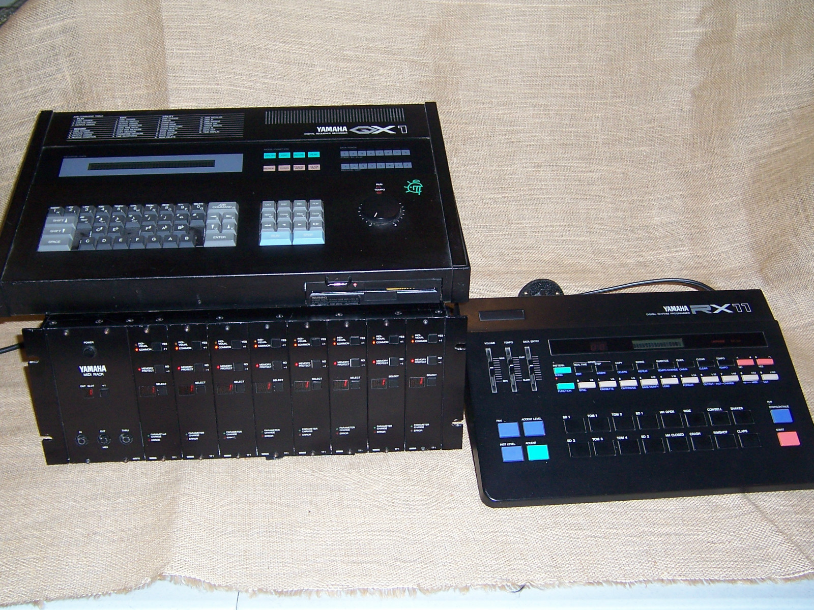 Yamaha Rx Music Drum Machine