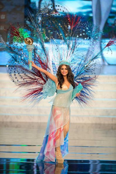 Miss Universe 2012 in National Costume