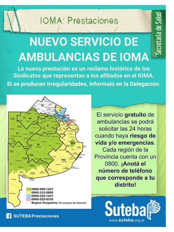Ambulancias de IOMA