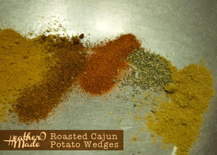 Roasted Cajun Potato Wedges. recipe. vegan. dinner. easy.