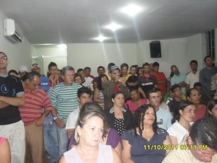 PRIMEIRA VOTAÇÃO DO ESTATUTO DOS SERVIDORES PÚBLICOS DO MUNICÍPIO DE LAJEDO