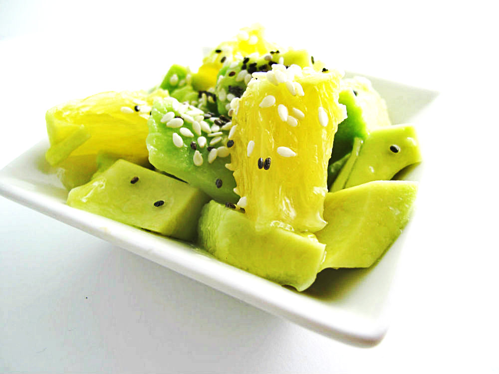 Lime Avocado and Orange Salad Recipe by Beth Hemmila of Hint Jewelry
