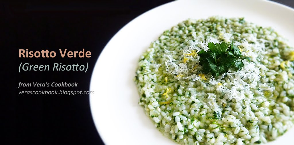 Risotto Verde (Green Risotto) | Vera's Cookbook