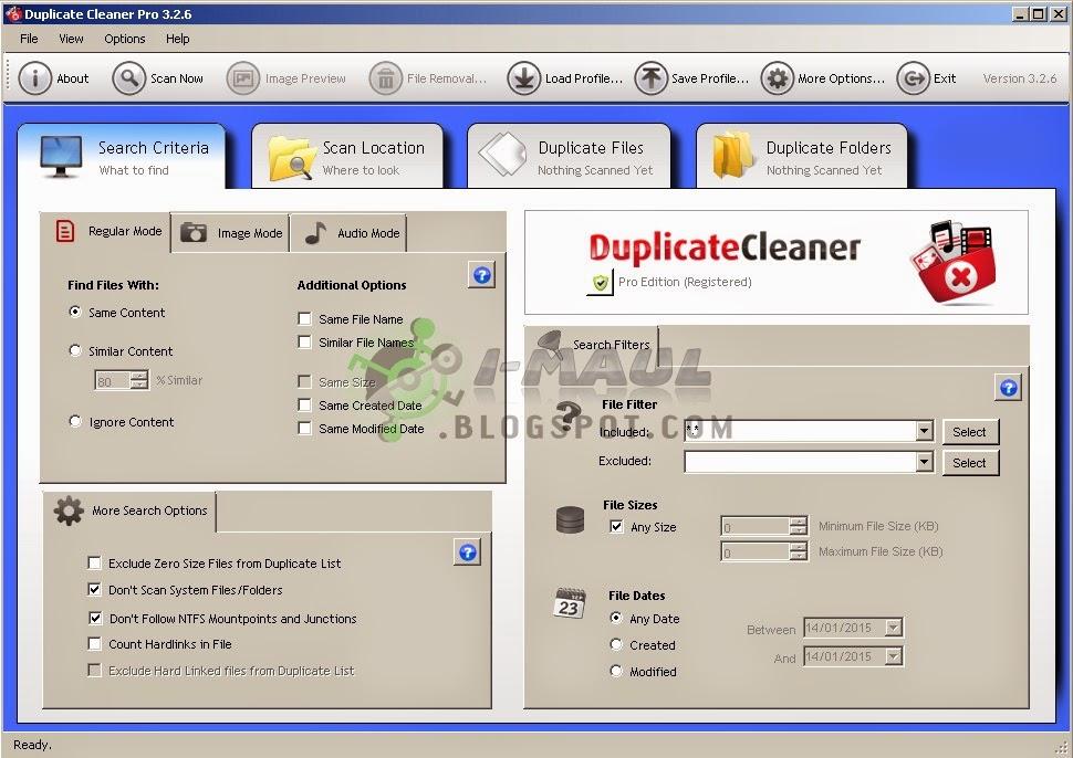 Download Duplicate Cleaner Terbaru