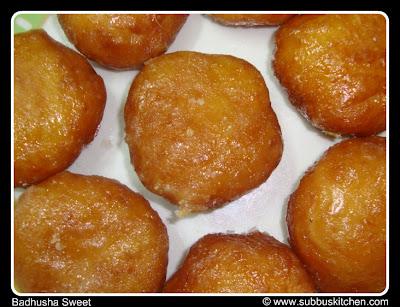 Badhusha Sweet