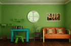 Green Christmas Room Escape