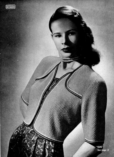 Free 1940's Knitting - Patons 251 Knitting Pattern Booklet