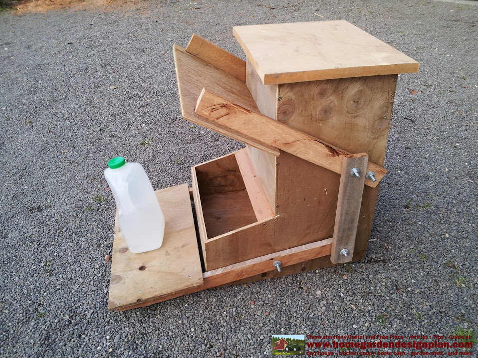 Diy Chicken Feeder And Waterer Plans And Ideas as well Our Chicks Sad Tale besides 2 in addition Automatic Chicken Feeders And Waterers For Poultry House moreover Cageplans. on pvc bird house plans