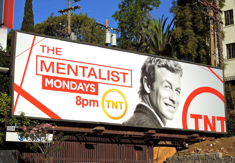 The Mentalist TV billboard