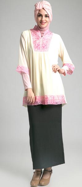Baju Muslim Corak Batik