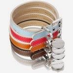 HENNESSY & SONS SAFFIANO COLLECTION DOG COLLAR