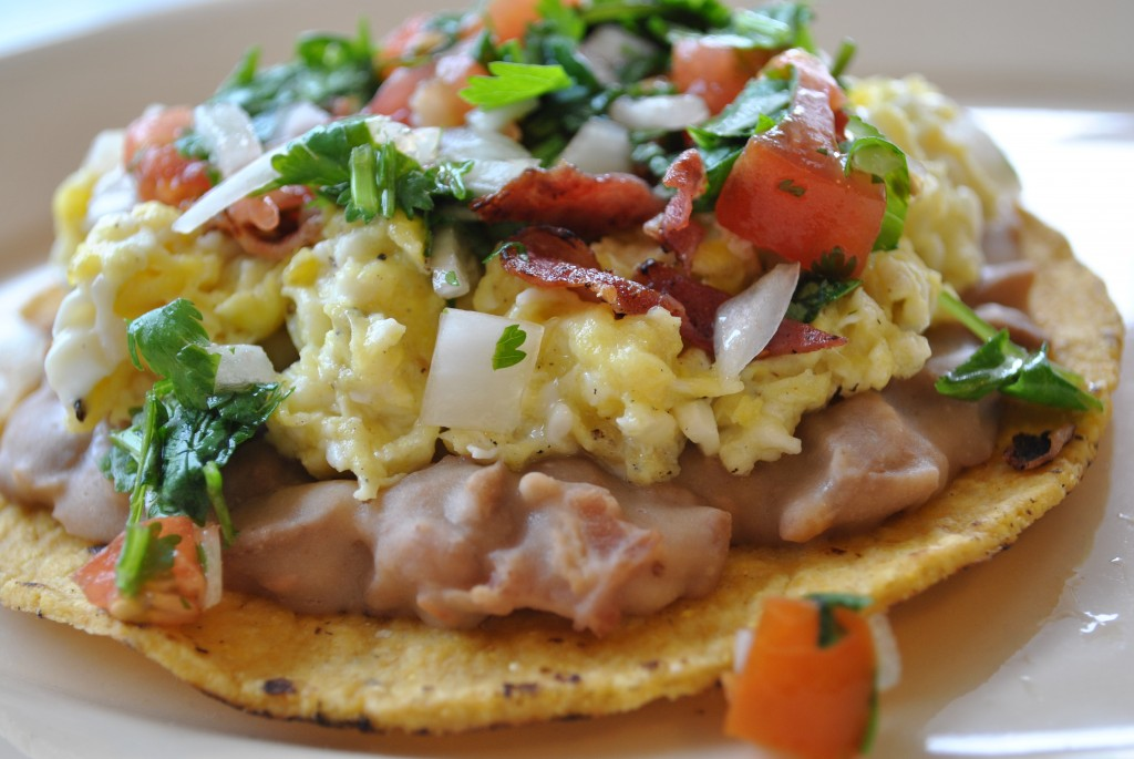 My Favorite Things: Low Fat Breakfast Tostada