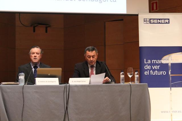 conferencia sobre José Manuel de Sendagorta Aramburu