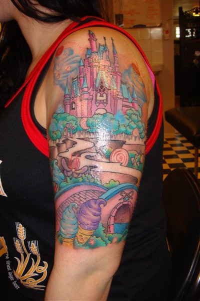 cinderella tattoos popular tattoo designs. Black Bedroom Furniture Sets. Home Design Ideas