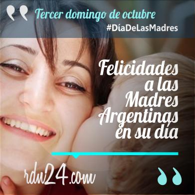 Felicidades a las Madres Argentinas en su día #DíaDeLasMadres #Argentina