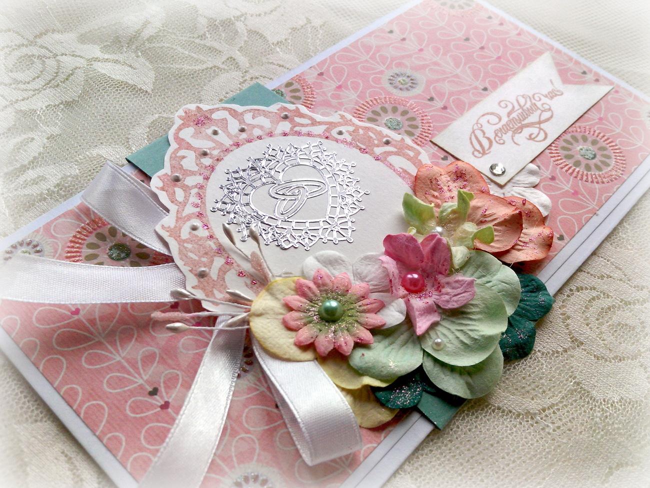 Конвертик для денег на свадьбу своими руками