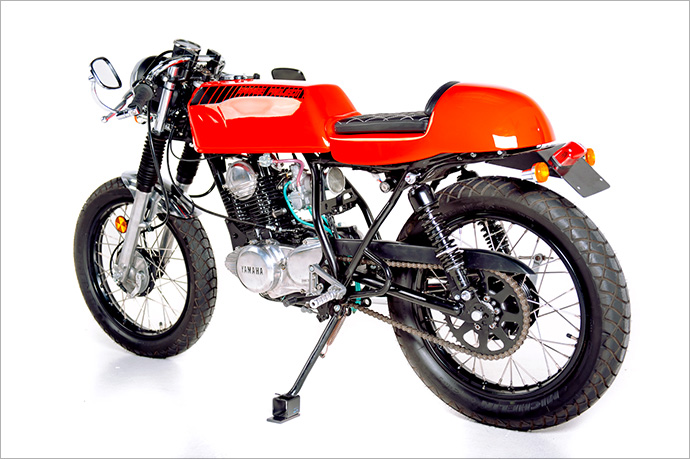Racing Caf U00e8  Yamaha Sr 250  U0026quot Lunacy U0026quot  By Garage Project Motorcycles