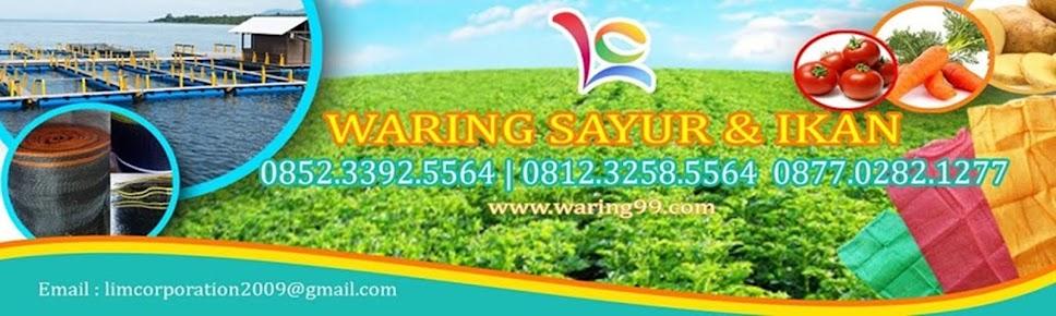 Jual Waring Sayur, Karung Waring, Waring Ikan, Waring Hitam, dan Waring Pagar