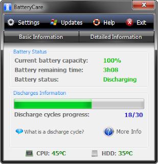 Aplikasi Menghemat Baterai Laptop