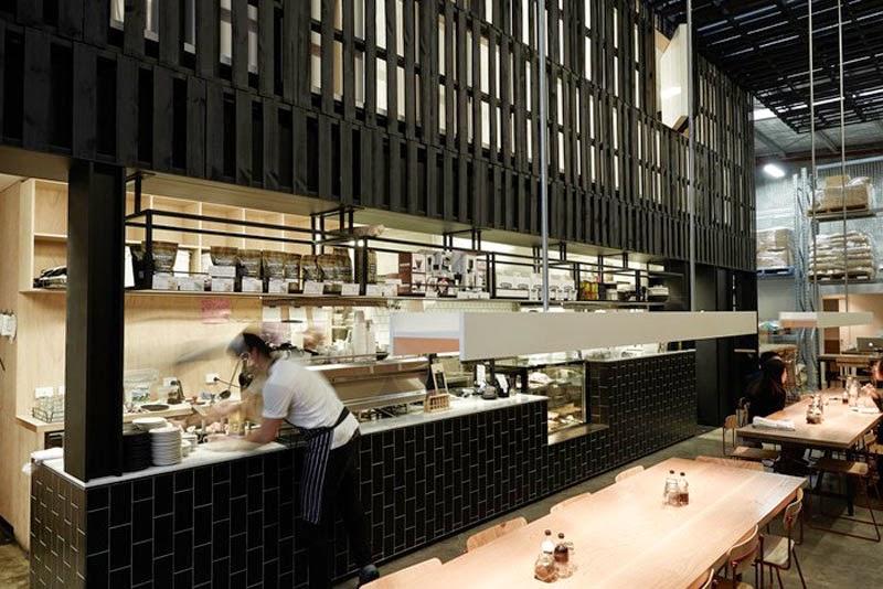 mejores diseños de interiores de bares y restaurantes del mundo, Industry Beans