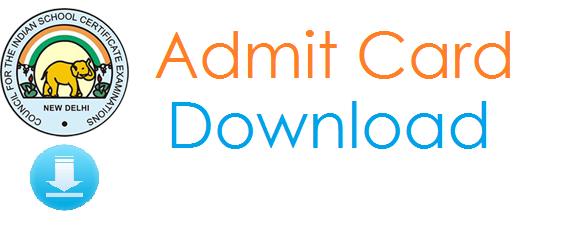 ISC Admit Card 2015