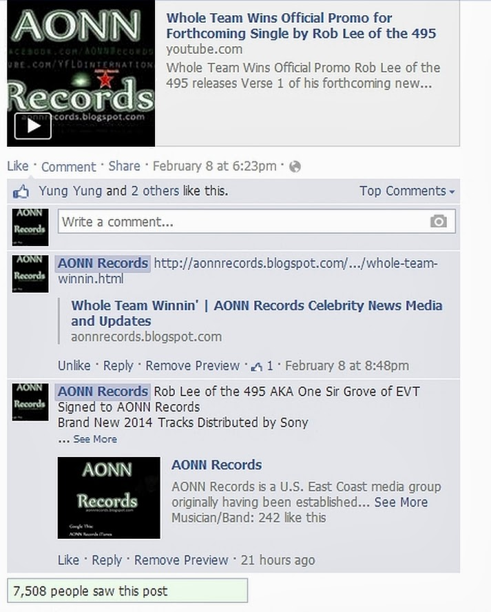 AONN Records Celebrity News Media and Updates
