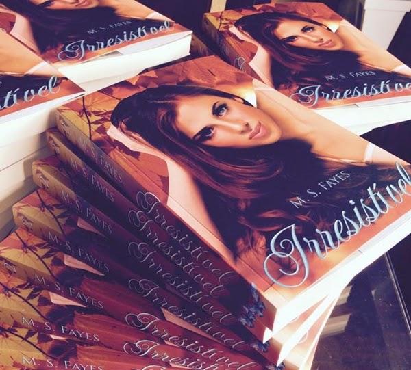 Resenha, livro, Irresistível, M. S. Fayes, ebook