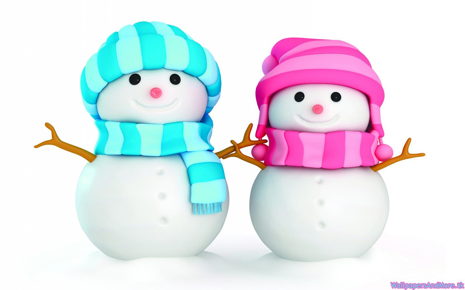 Cute little snowmen wallpapers for Small snowman