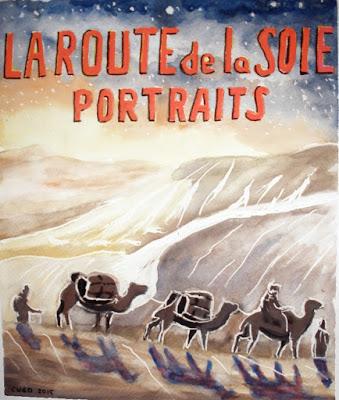 La Route de la Soie - Portraits - Affiche