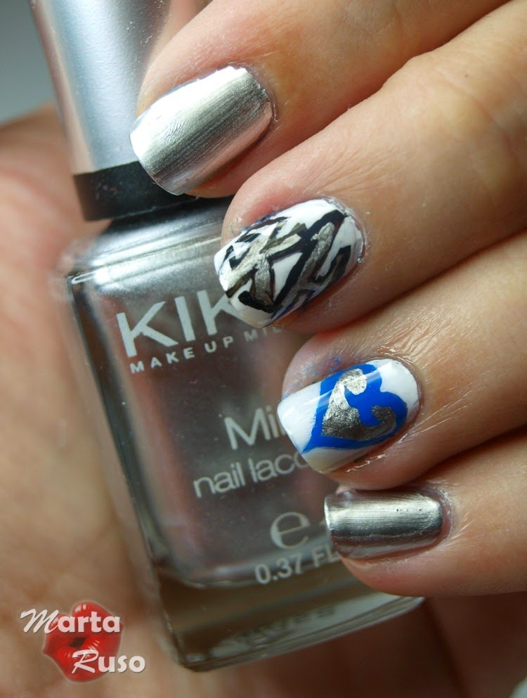 Entre estética y cosmética: #retoFRIKI2015 - Nail art Kingdom Hearts