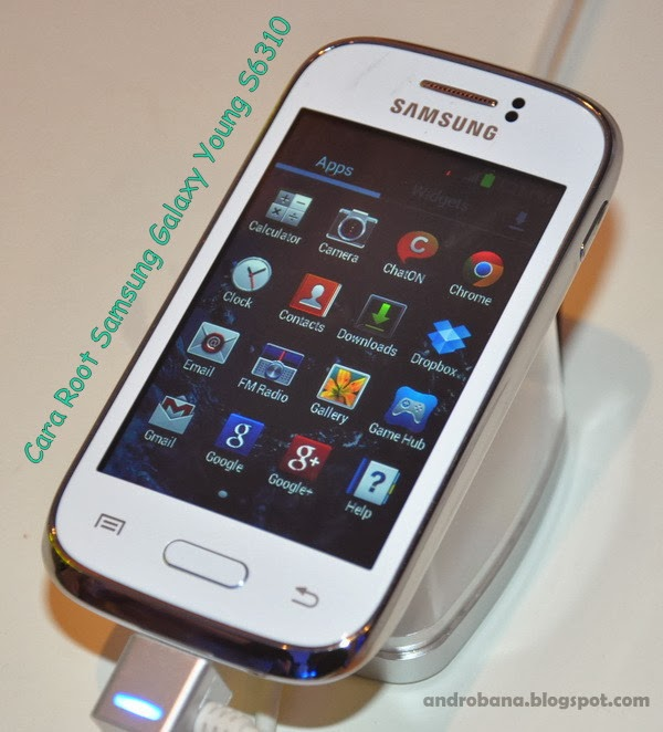 Cara Root Samsung Galaxy Young S6310 via FramaRoot
