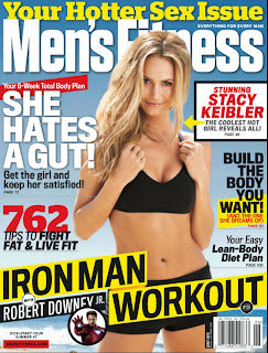 Stacy Keibler Photo shoot, Men Fitness Magazine