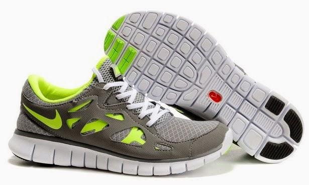 online store fcd79 b14e6 Nike Free Run 2 Herr Grå Jade Foot Locker