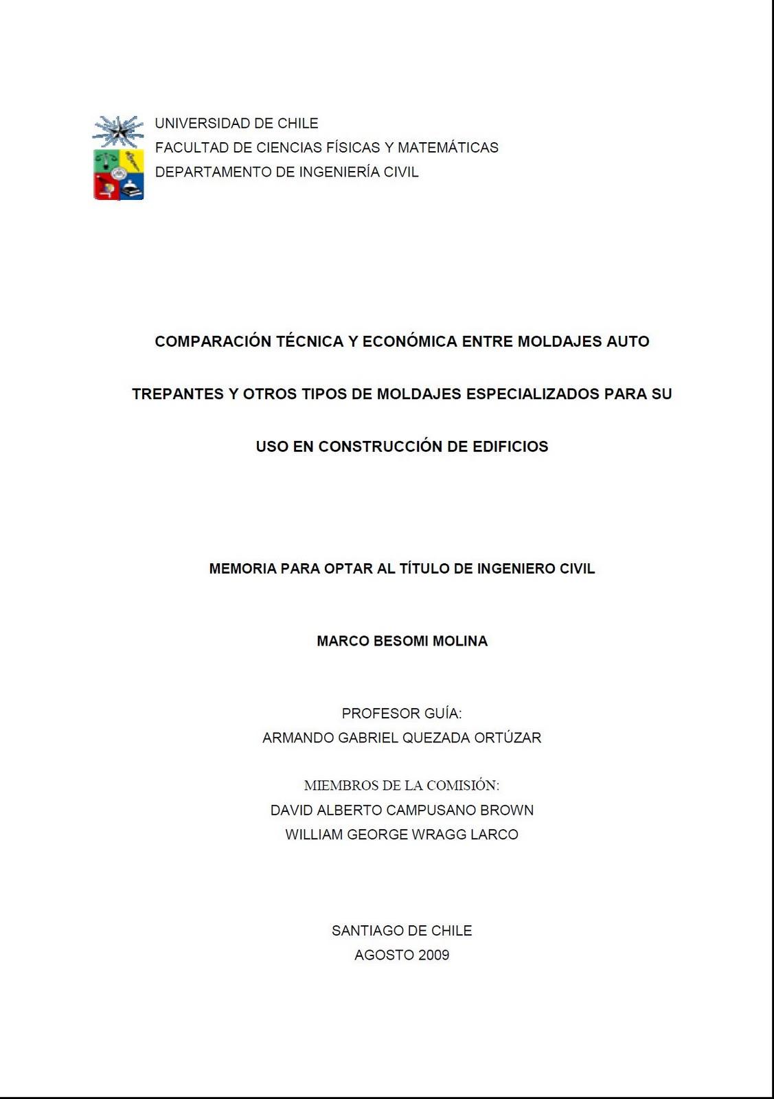 Ingeniería y Construcción: TESIS DE INGENIERÍA Y CONSTRUCCIÓN