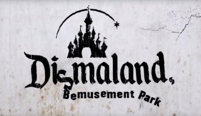 Der offizielle Dismaland Trailer von Banksy | Aus der Serie: Dinge die man gesehen haben sollte. Atomlabor Blog StreetArt Tipp