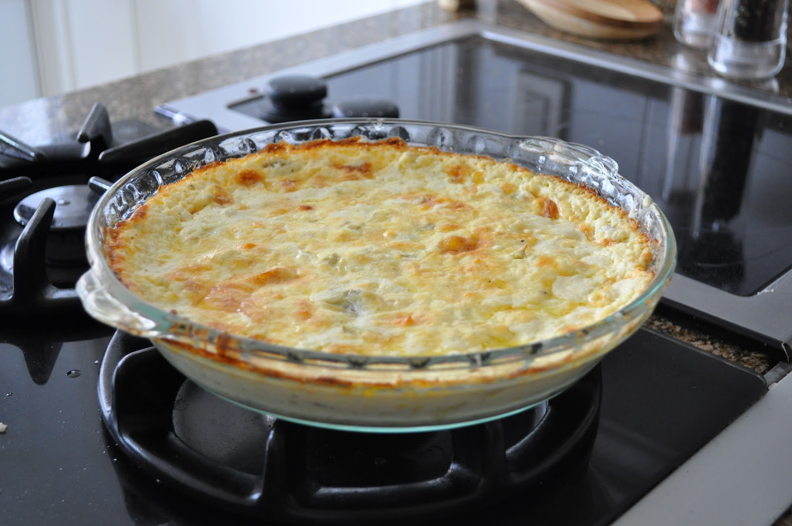 Creamy, Three-Cheese Artichoke Dip Recipe — Dishmaps