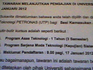 Diary Seorang Puteri Universiti Teknologi Petronas