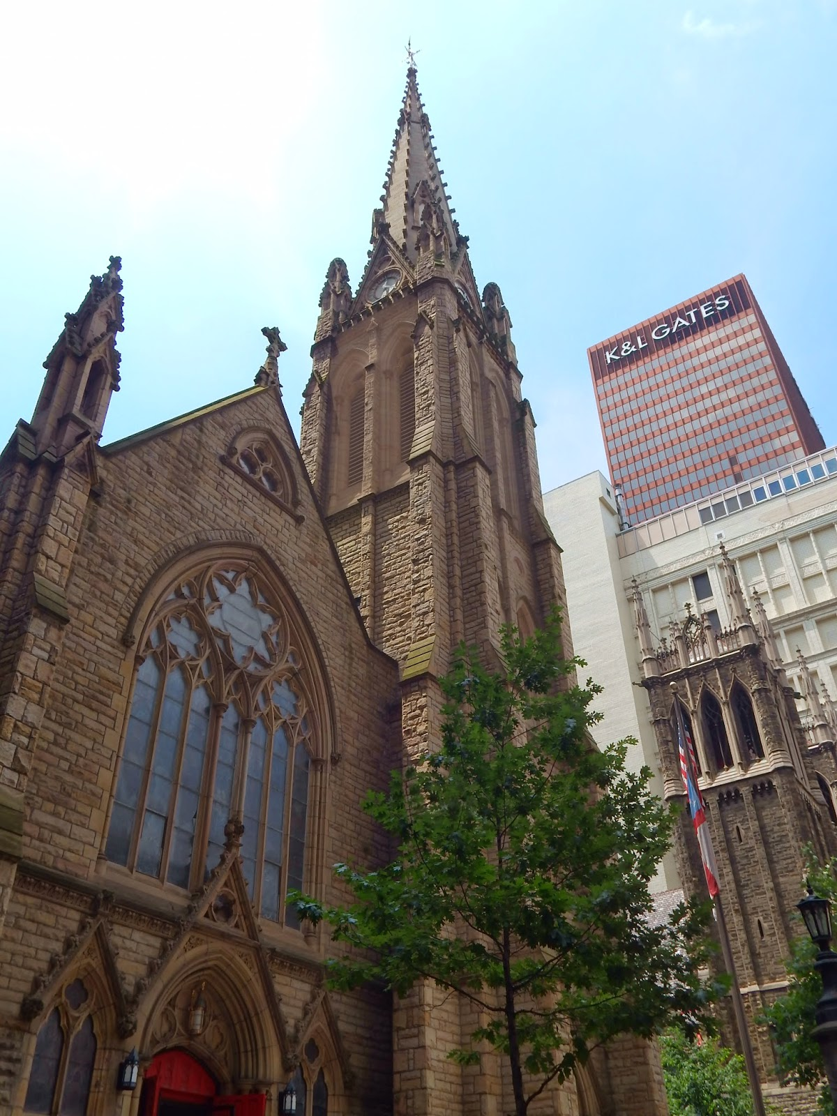 Cathedral On Sixth Street Has Been A Beautiful Addition To Downtown Pittsburgh With Its English Gothic Style The Is An Architectural Beauty