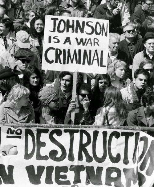 Manifestions contre la guerre du Vietnam protest war viet nam 1968 art sound