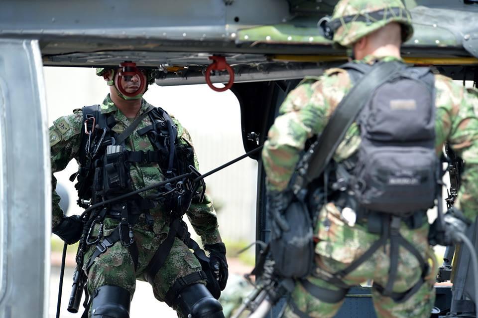 Fuerzas especiales del Ejército de Colombia